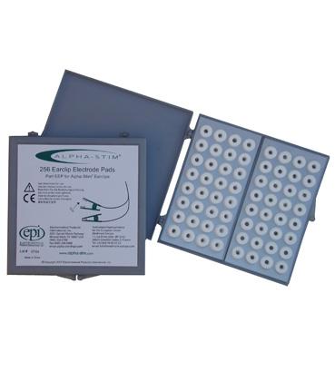 Scatola di 256 elettrodi in feltro da utilizzare con elettrodi Earclip