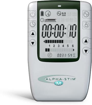 Alpha-Stim M – Stimolatore per elettroterapia microcentrale e cranica